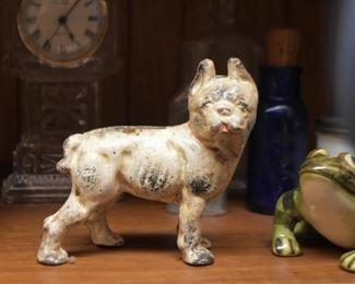 Hubley Cast Iron Dog Bank