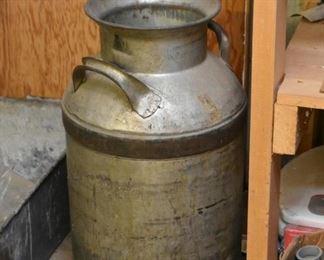 Metal Milk Can