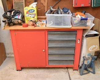 Workshop Cabinet, Tools