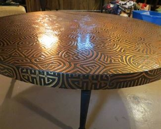 1960's Copper Table Top