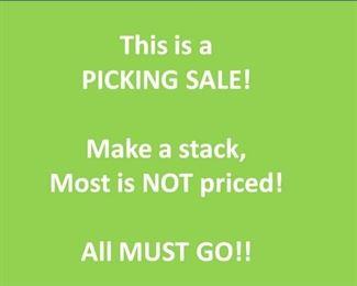 picking sale