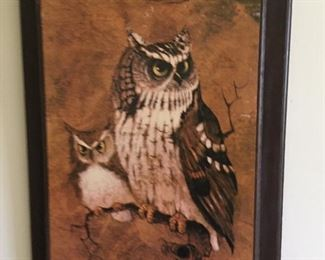 Painting on wood, antique