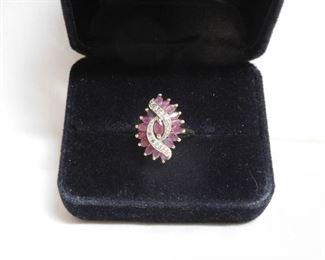 10 k Ruby and Diamond