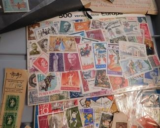 Stamp Collection --- View All Stamps