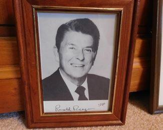 1980 Autographed Photo of President Reagan