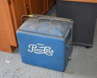 Vintage Pepsi Cooler