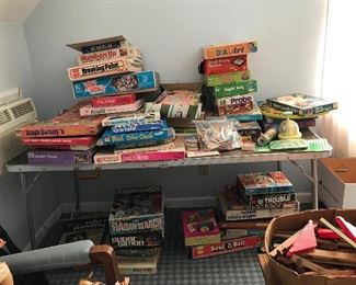 A plethora of vintage games. Not organized yet!