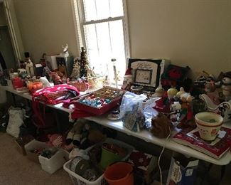 Do you need Christmas decorations?  We have many beautiful items, new and vintage