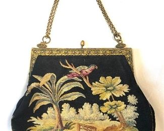 Embroidered Evening Bag