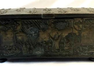 Danish Iron Art Box - Battle of Lydanisse