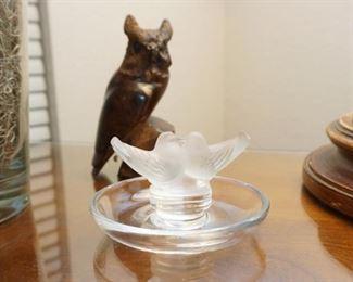 Lalique trinket bowl