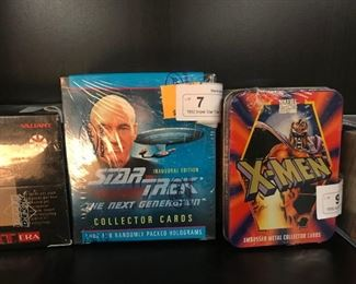 trading cards -sealed boxes
