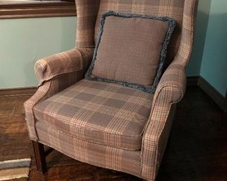 Great wingback chair, in excellent condition