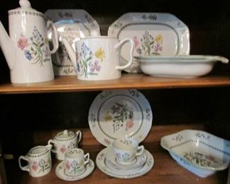 Spode Summer Palace service for 8