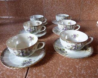 Vintage tea sets Made in Japan