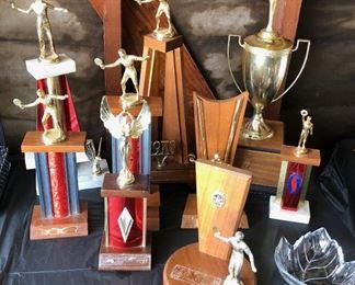 Vintage trophies