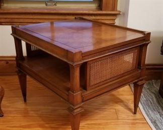 Weiman heirloom cane end table