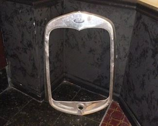 Another antique grill..1930 Model A Grill Shell