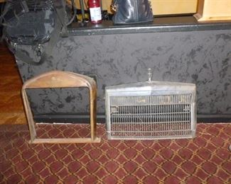 More antique grills..grill on left is Small Ford Copper Grill,