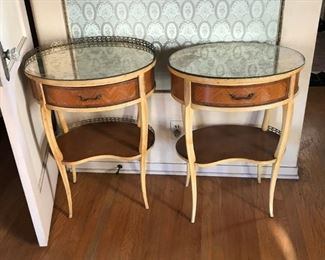 Pair of side tables - $45