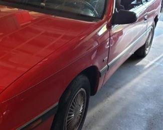 1992 Lebaron 1 owner 50000 original miles
