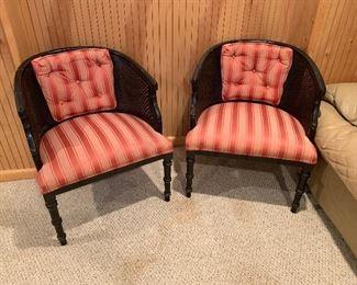 Regency Barrel Chairs
