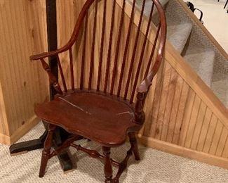 Cherry Windsor Captain Chair