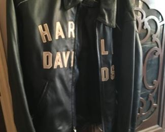 One of two nice Harley jackets -- a nice find!
