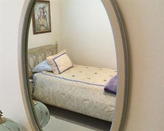 OVAL MATCHING MIRROR
