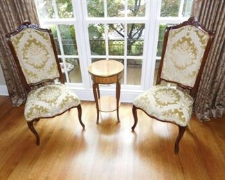Pair of sitting chairs $295