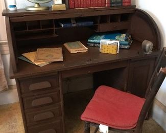 Early 1900's roll top desk