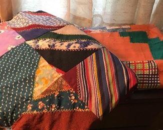Vintage quilt top's