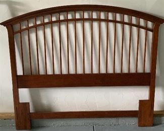 Maple bed frame