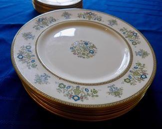 Minton Fine Bone China -- 8 Dinner and 8 Cake Plates