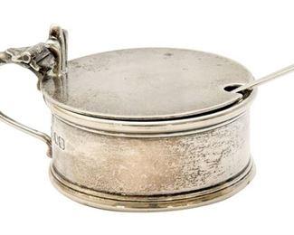 131. English Sterling Silver Salt