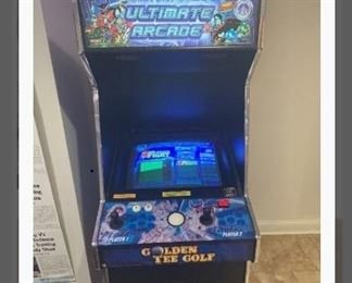 ULTIMATE ARCADE 2 from GOLDEN TEE GOLF, Arcade Game.  CHICAGO GAMING COMPANY,  loaded with 100 games