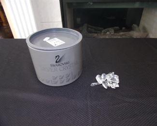 Swarovski crystal - rose