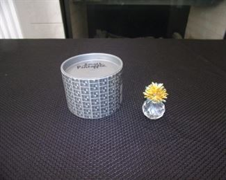 Swarovski crystal - small pineapple