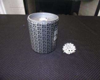 Swarovski crystal - small hedgehog