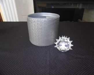 Swarovski crystal - large hedgehog