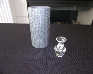 Swarovski crystal - vase