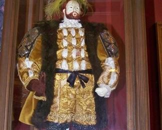 Henry VIII doll in case