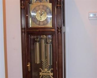 Grandfather clock by Bulova