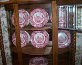 Huntingdon College plates, 12