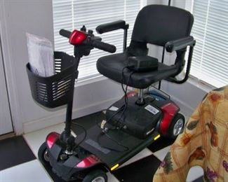 Brand new motorized wheelchair
