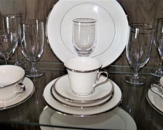 "Lenox ""Solitaire"" china"