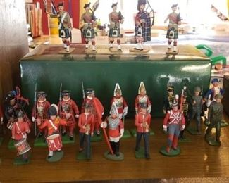 Collectible British Soldiers