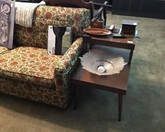 2nd of mid century modern end table