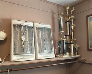 Trophies, 2 heaters