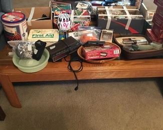Coffee table and miscellaneous